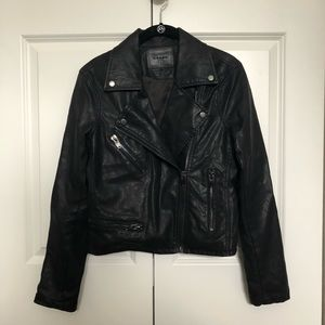 Blank NYC Faux Leather Jacket (Small)